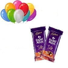 8 Air Balloons 2 Silk Chocolate