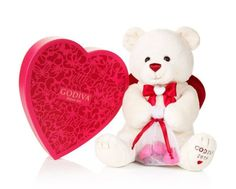 Valentine heart with Teddy Bear (6 inches)