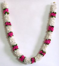 One Fresh Flower White flower garland
