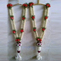 Two Wedding Mala wedding flower mala online